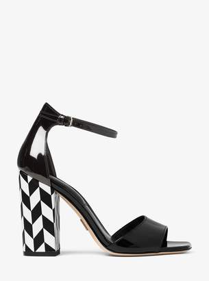 Michael Kors Rosa Patent Leather Sandal