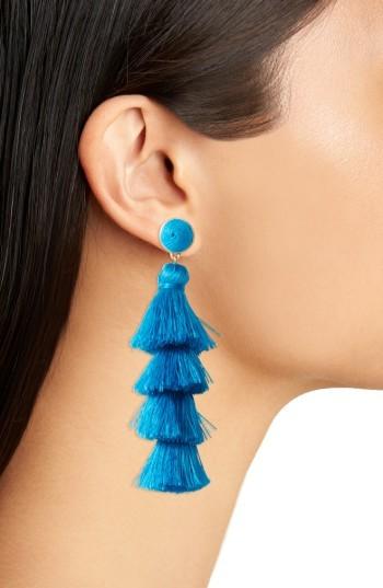 Women's Baublebar Antonella Tassel Fringe Earrings 4