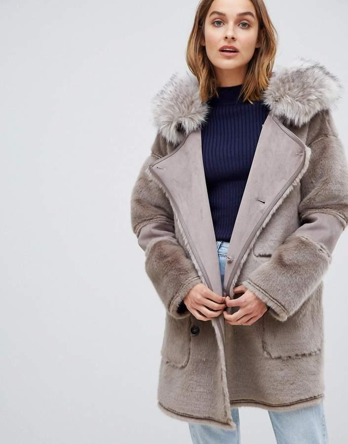 Urbancode UrbanCode Azza reversible duffle coat