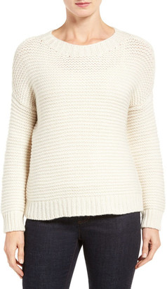 Eileen Fisher Lofty Recycled Cashmere Blend Sweater $448 thestylecure.com