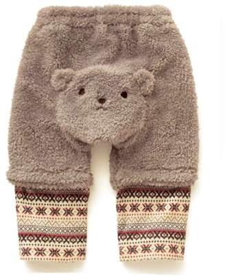 StylesILove.com StylesILove Cozy and Warm Teddy Bear Fleece Baby Pants (18-24 Months, Grey)