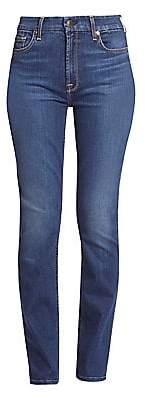 7 For All Mankind Jen7 by Women's Slim-Fit Straight Leg Jeans