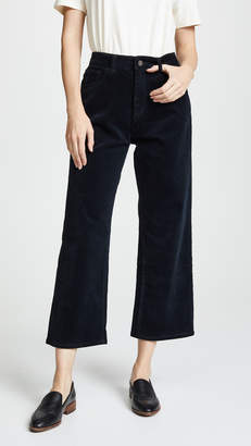 DL1961 Hepburn High Rise Corduroy Wide Leg Pants