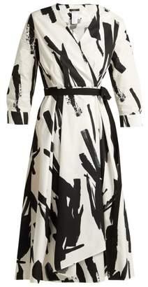 Weekend Max Mara - Cartone Dress - Womens - White Black