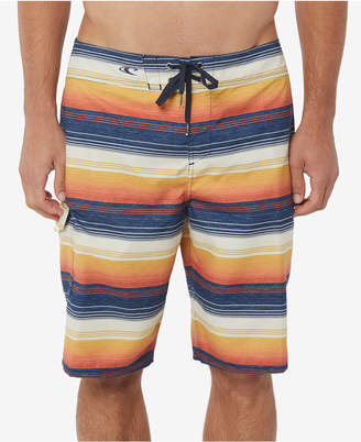 "O'Neill Men Santa Cruz Stripe 21"" Board Shorts"