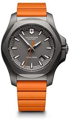 Victorinox Men's I.N.O.X. Titanium Swiss-Quartz Watch with Rubber Strap
