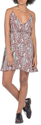 Women's Volcom On The Edge Surplice Dress $49.50 thestylecure.com