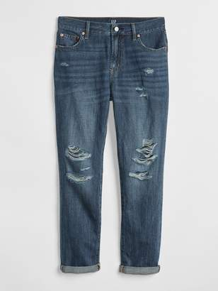 Gap Wearlight Mid Rise Best Girlfriend Jeans