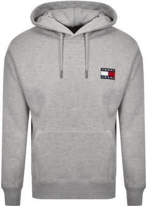 Badge Hoodie Grey