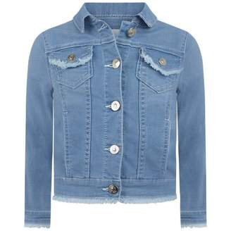 Chloé ChloeGirls Blue Denim Jacket