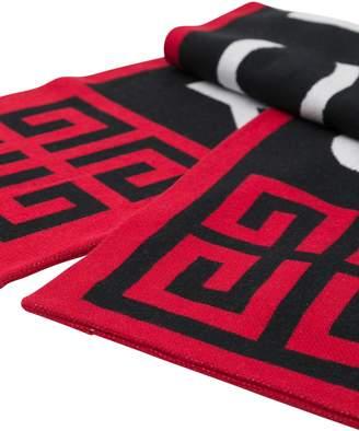 Givenchy 4g Knit Scarf