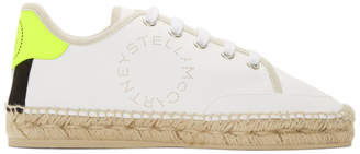 Stella McCartney White Sneaker Espadriles