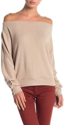 Anama Knit Button Sleeve Top