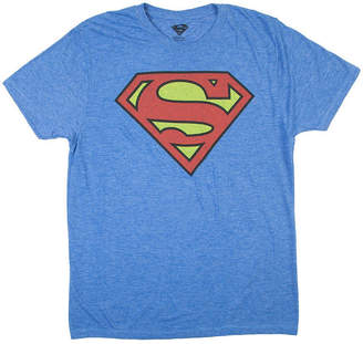 Novelty T-Shirts DC Superman Logo Graphic Tee