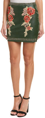 Romeo & Juliet Couture Embroidered Mini Skirt