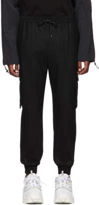 Juun.J Black Slim Cargo Pants