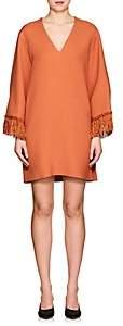 Derek Lam WOMEN'S FRINGED CREPE SHIFT DRESS