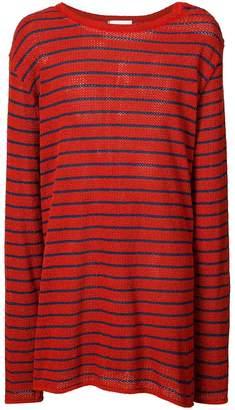 Faith Connexion striped oversized jumper