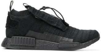 adidas black NMD TS1 PK gore-tex primeknit sneakers