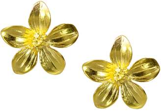 9856ab086 Ottoman Hands - Daisy Gold Flower Stud Earrings