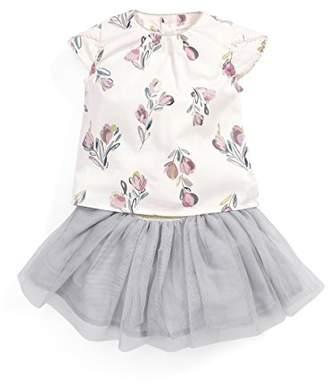 Mamas and Papas Mamas Papas Baby Girls' Blouse Tutu Set Clothing,Pack of 2