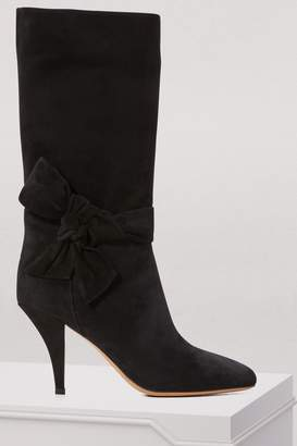 Valentino Sueded leather boots