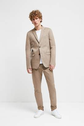 French Connenction Stretch Cotton Suit Trousers