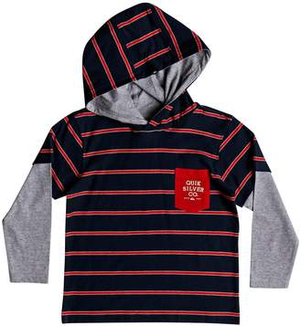 Quiksilver Gerik Stripe Layered Hoodie