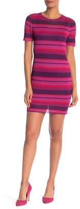 Trina Turk trina Striped Sweater Sheath Dress