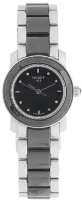 Tissot T-Trend Cera Black Ceramic Womens Quartz 28mm Watch