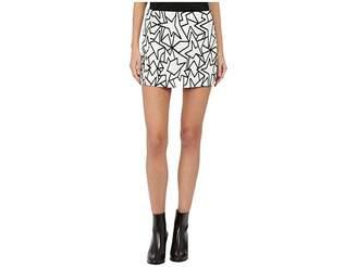 Neil Barrett Pop Art Jacquard Skirt Women's Skirt