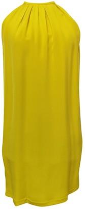 Celine Yellow Silk Dress for Women