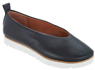 Kenneth Cole Gentle Souls by Gentle Souls Leather Slip-on Shoes - Demi
