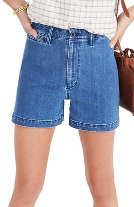 Madewell Emmett High Waist Denim Shorts