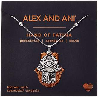 Alex and Ani Hand of Fatima III Necklace