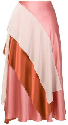 Roksanda draped skirt