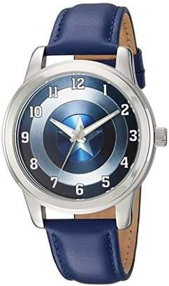 Marvel Men's 'Captain America' Quartz Metal Casual Watch
