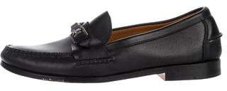 Ralph Lauren Leather Buckle Loafers