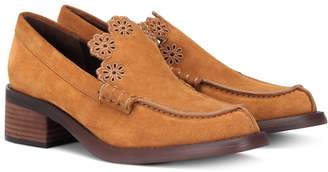 See by Chloe Suede loafers