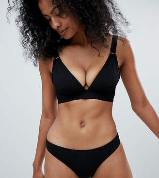 Wolfwhistle Wolf & Whistle Exclusive textured rib bikini bottom