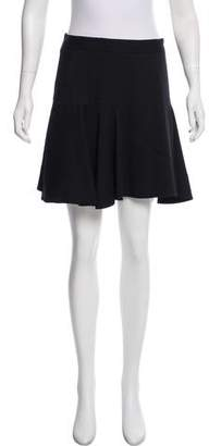 Robert Rodriguez Paneled Mini Skirt