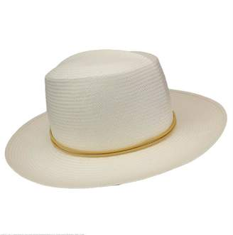 Yestadt Millinery White Voyager Straw Hat