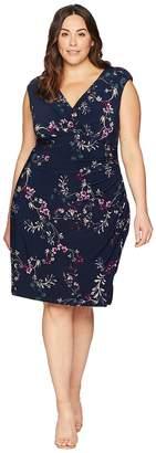 Lauren Ralph Lauren Plus Size Adara Avendida Floral Women's Dress