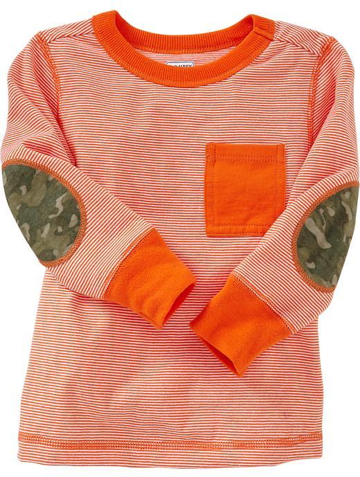 Old Navy Elbow-Patch Pocket Tees for Baby