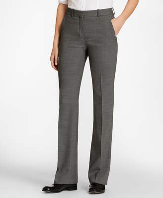 Brooks Brothers Petite Bird's-Eye Stretch-Wool Pants
