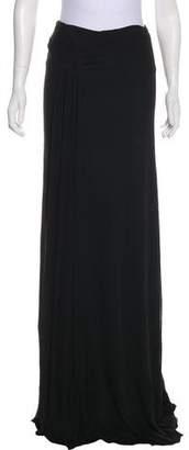 Ralph Lauren Pleat-Accented Maxi Skirt w/ Tags
