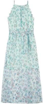 Amy Byer Iz Girls 7-16 IZ Printed Chiffon Maxi Dress