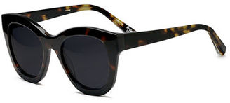 Elizabeth and James Bryant Square Monochromatic Sunglasses $185 thestylecure.com