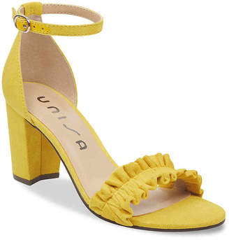 aed79dc72 Yellow Satin Heels - ShopStyle