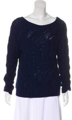 Polo Ralph Lauren Bateau Neck Cable Knit Sweater